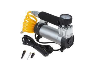 1PC Vehicle-mounted Air Pump High Pressure Tyre Pump for Store (Black)
