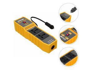 1 Set Professional Practical Car Plug Converter Car Power Inverter Car Charge Transformer