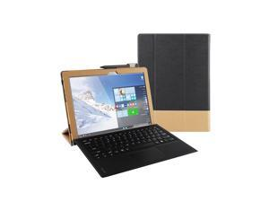 Tablet PC Case Full Coverage Protective Cover with Holder for Lenovo IdeaPad MIIX310-10ICR (Black)
