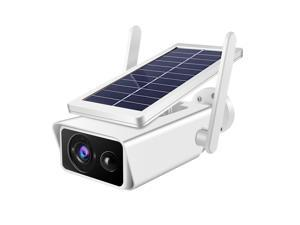 Low Power Surveillance Solar Camera Waterproof Monitoring Camera for Home