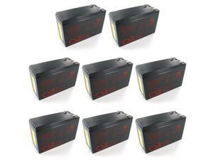 Quantity 8: CSB GP1272 F2 12V/7.2 AH OEM Sealed Lead Acid Battery