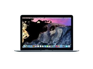 """Apple Laptop MacBook MJY42LL/A Intel Celeron M 5Y51 (1.10 GHz) 8 GB Memory 512 GB HDD 512 GB SSD Intel HD Graphics 5300 12.0"""" Mac OS X v10.10 Yosemite"""