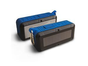 RAYJAM - Solar Bluetooth Speaker - Blue