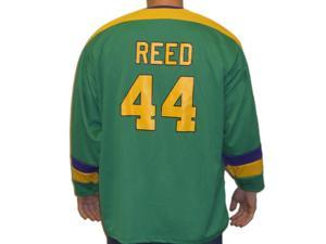 447e5e2fc Fulton Reed  44 Mighty Ducks Movie Hockey Jersey Bash Brothers Slap Shot  Costume ...