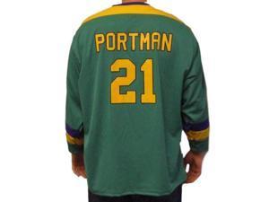 a8725189b Dean Portman  21 Mighty Ducks Movie Hockey Jersey Bash Brothers Costume ...