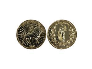 Ex Unitae Vires Ens Causa Sui Gold Coin