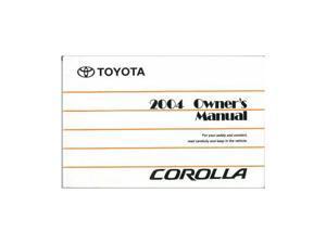 toyota repair manuals newegg com rh newegg com 2004 toyota corolla owners manual free 2014 toyota corolla owners manual pdf