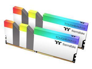 Thermaltake TOUGHRAM RGB DDR4 4000 (PC4 32000) 16GB (2 x 8GB) Desktop Memory - White R022D408GX2-4000C19A