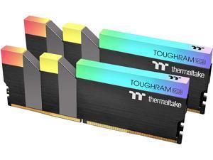 Thermaltake TOUGHRAM RGB 16GB (2 x 8GB) 288-Pin DDR4 4600MHz (PC4 36800) C19 Desktop Memory- R009D408GX2-4600C19A