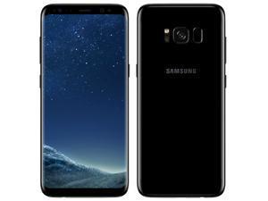 Samsung Galaxy S8 plus G955U Unlocked 6.2'' AMOLED Display 4GB RAM 64GB Internal 12MP Camera Phone - Midnight Black