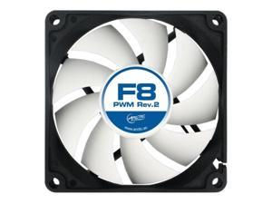 ARCTIC F8 PWM REV.2 Fluid Dynamic Bearing Case Fan 4 Pin, 80mm PWM Speed Control 850-2000RPM 31CFM