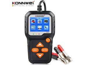 KONNWEI KW650 Battery Tester 12V 6V Car Motorcycle Battery System Analyzer 2000CCA Charging Cranking Test Tools for Cars