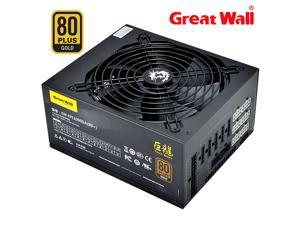 Great Wall PC Power Supply 1000W ATX APFC 12V Gaming Full Modular PSU Unit 140mm Mute Fan 80plus Gold Source Computer Power Supplies for PC