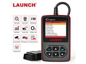 LAUNCH Creader V+ OBD2 Car Scanner Engine Diagnostic Tool EVAP O2 Sensor On-Board Monitor Test Auto OBD Code Reader