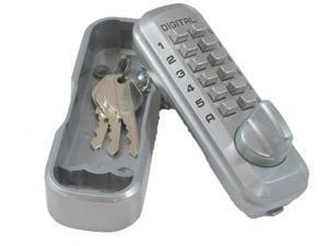 Lockey Key Safe Box - Satin Nickel
