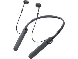 Sony Outdoor Activity Style Sports Lightweight Neckband Earbuds Bluetooth Wireless In-Ear Earbud Headphone with Built-In Microphone, Black