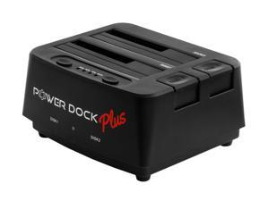 """Kingwin PD-2537U3-P Dual-Bay 2.5""""/3.5"""" SATA Hard Drive (HDD) & Solid State Drive (SSD) Docking Station Super-Speed USB 3.0 interface offers 10X faster performance (up to 5Gbps)"""