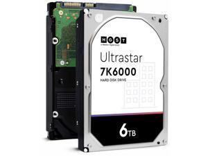 """HGST Ultrastar 6TB 7200 RPM 128MB Cache SATA 6.0Gb/s 4Kn 3.5"""" HUS726060ALN610 Hard Drive 0F23077"""