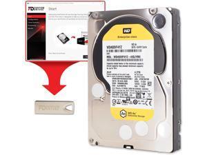 "Fantom Drives WD 4TB (4.3TB) 7200RPM Enterprise Hard Drive Upgrade Kit, 3.5"", SATA 6.0 Gb/s, 64MB Cache with FD Cloning Utility in USB Flash Drive"