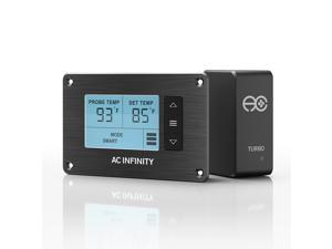 AC Infinity Thermal Controller, Fan Thermostat and Speed Controller, for Home Theater AV Media Cabinet Cooling