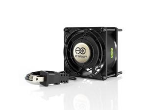 AC Infinity AXIAL 8038, Muffin Axial Cooling Fan, 115V AC 80mm by 80mm by 38mm Low Speed