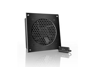 AC Infinity AIRPLATE S3, Quiet Cooling Fan System with Speed Control, for Home Theater AV Cabinet Cooling