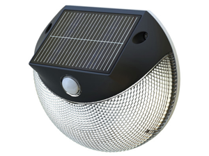 LED Solar Motion Light By Thombo for Outdoor Use- Motion Activated Security Light, Energy Efficient, Easy Installation, Wireless