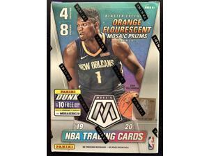 2019-20 Panini MOSAIC Basketball Card Factory Sealed Blaster Box - Exclusive ORANGE FLOURESCENT PRIZMs - 32 Cards per Box - Find Zion Williamson and Ja Morant Rookie Cards!