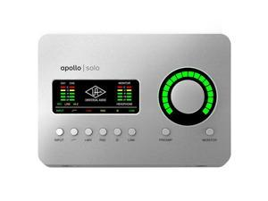 Universal Audio Apollo Solo USB Desktop 2x4 USB Type-C Audio Interface with Real-Time UAD Processing for Windows