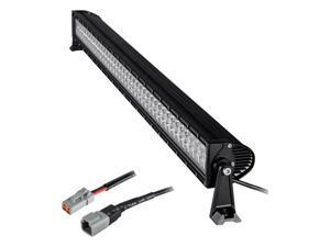 "Heise HE-DR14 - 14"" Dual-Row LED Light Bar - Black NEW FAST SHIPPING"