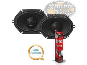 "JBL STADIUMGTO860 Stadium GTO860 6""x8"" 2-Way Car Speakers + Ballistic SSWEDGE Sound Dampening Kit"