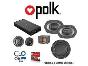 polk audio pa d5000 5 amplifier & polk audio db1042 10