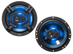 """Boss B65LED 6.5"""" 3-Way Full Range Car Speakers"""