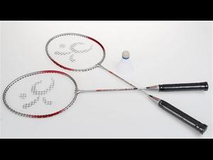 Portable Badminton Court w 2 Rackets Sport Outdoor