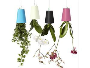 Upside Down Plant Holder Pot Hanging Sky Planters Plant Holder Pot Ceiling Random Colour