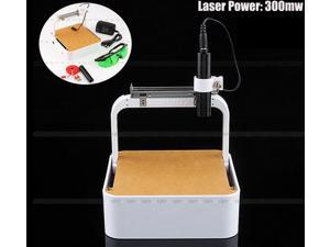 300MW Laser Engraver USB Mini DIY Carving Engraving Machine Picture Logo Printer