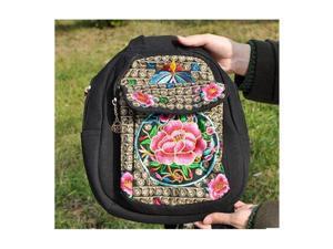 0ab56d8f5d75 New National Style Emboridery Bag Original Dual-purpose Shoulders Bag Chest  Bag Featured Emboridery Bag
