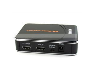 Newest HD Video Capture EZCAP 1080P Game Capture HDMI YPbPr Recorder Box into USB Disk with Edit Software for XBOX One/360 PS3 220V