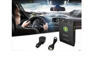 Hands-free Multipoint Wireless Bluetooth Speakerphone Speaker Car Kit Sun Visor