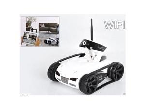 RC Car Tank Toy With Camera WiFi Remote App-Control IPad Iphone Itouch Wireless Spy