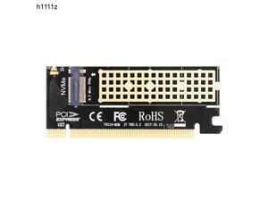 JMT PCI Express to NVME M.2 Expansion Card Converter PCIe 3.0 4X NVME SSD Adapter for Desktop PC Support 2230 2242 2260 2280