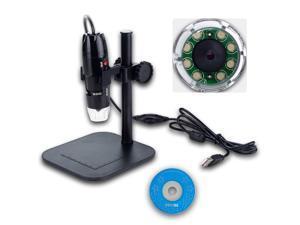 20x - 800x 2MP USB Digital Microscope Endoscope Video Camera Magnifier