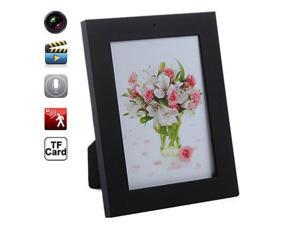 Digital Photo Frame Spy Hidden Camera Mini DVR Audio Video Camera Recorder Hidden Camcorder Motion Detection 8GB (Black)