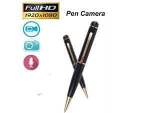 16GB 1080P HD Spy Pen Mini Camera Hidden Camcorder DVR Pinhole Video Recorder New(Gold)