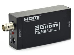 New Mini HD 1080P 3G SDI to HDMI Converter Support SD-SDI, HD-SDI and 3G-SDI Signals Showing on HDMI Display AY30