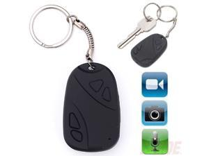 Mini Car Key Chain Spy Hidden Pinhole Camera Security Video Recorder Cam DVR 808