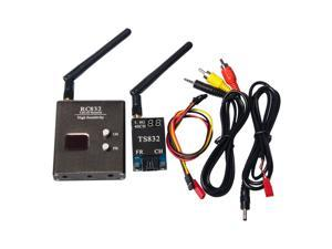 FPV 5.8GHz 600mW Wireless Audio Video Link 32CH Transmitter TS832 & Receiver RC832 For Camera Drone Remote Control