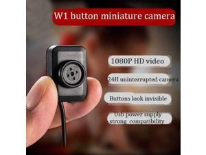 Mini Button Hidden Camera DVR 2 Meter Line HD 1080P Spy DV Video Recorder Cam W1