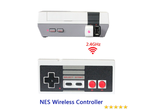 Wireless Mini Game Controller Gamepad For NES Classic Edition Nintendo Console
