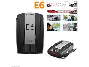 E6 360° 16 Band Car Motorbike Wireless Laser Radar Gun Speed Detector GPS Voice